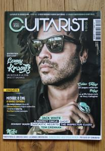 Couv' guitarist mag