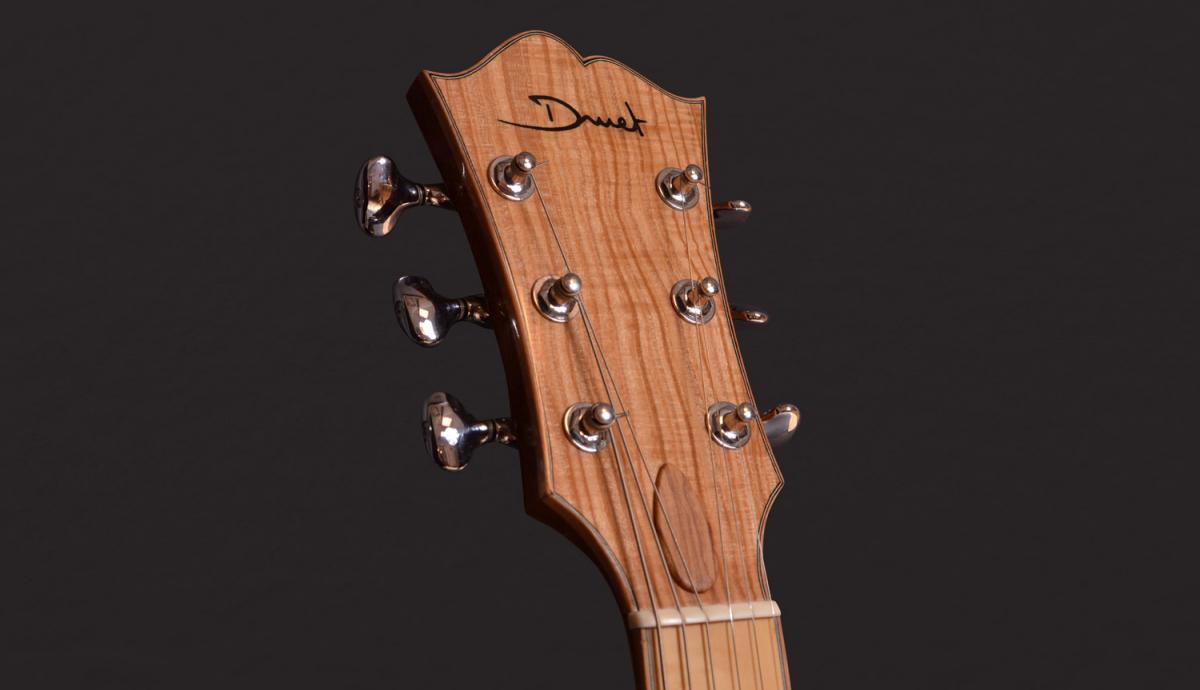 parlor du luthier espagnol David solé (Leno guitars) Archtop07